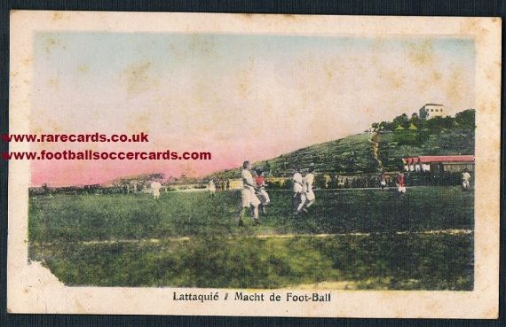 1920s Latakia Syria Alawite football action